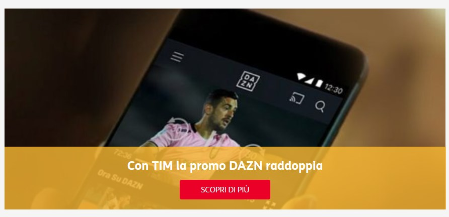 Con TIM Party in regalo per te il calcio di DAZN